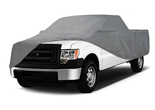 Coverking UVCTFSSI98 Universal Fit Car Cover for Full Size Truck with Short Bed Standard Cab - Triguard Light Weather Outdoor (Gray)