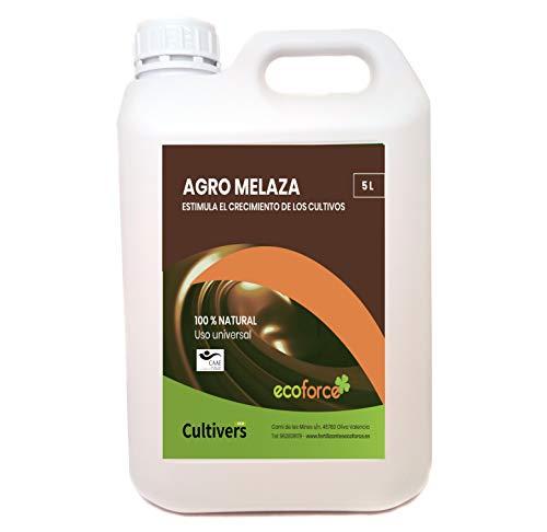 CULTIVERS Agro Melaza Ecológica 7 kg (5 L). Estimula el