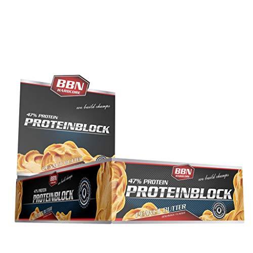 2 x BBN Hardcore Protein Block, 15 Riegel je 90g , Joghurt-Lemon (2er Pack)