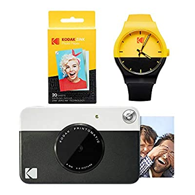 KODAK PRINTOMATIC Instant Print Camera Photography Kit from Kodak