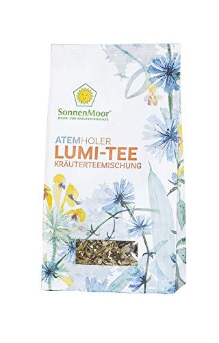 SonnenMoor Atemholer LUMI-Tee - lose Kräuterteemischung 50 Gramm - für ein harmonisierendes und befreiendes Gefühl im Halsbereich