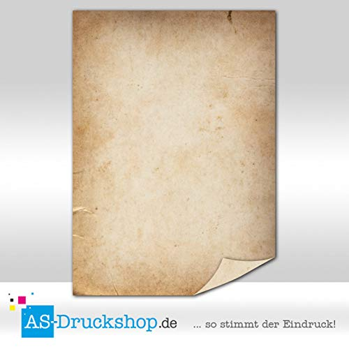 Papyrus/Pergament - Urkundenpapier / 25 Blatt/DIN A4 / 90 g-Offsetpapier