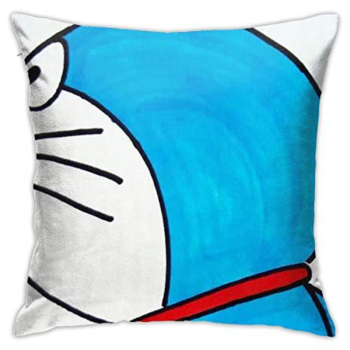 Doraemon - Funda de cojín para sofá cama, 40,6 x 40,6 cm