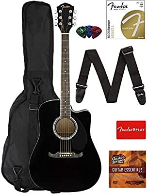 Fender FA-125CE Acoustic-Electric Guitar Bundles