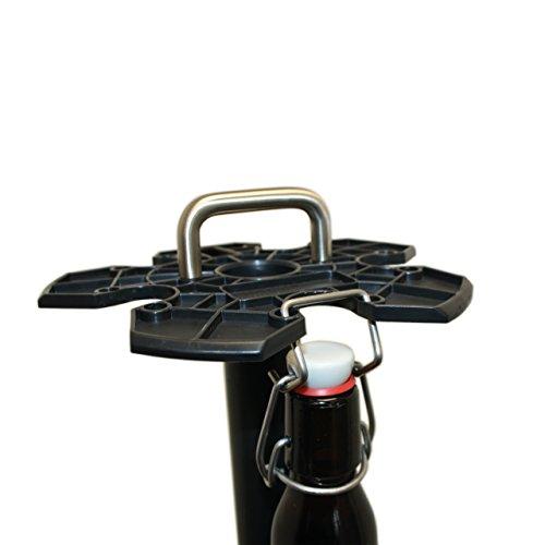 HopfenHöhle Hopfen-Bügel: 15er Set Aufhängehaken für Bügelflaschen