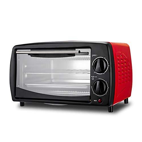Mini Haushalt Toastofen, 12L 800W Elektrischer Backofen, Multifunktionale Toastofen mit Auftauen und Backen, Kann Gleichmäßig und Schnell heizen
