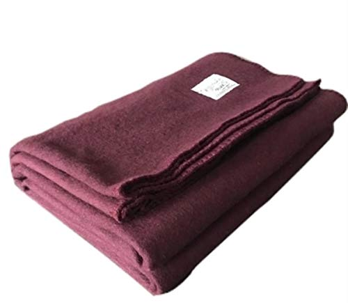 Woolly Mammoth Woolen Company Explorer Collection Wool Blanket
