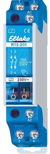 Eltako 2078019 Schaltrelais 230V. 2 Schließer 16A/250V AC