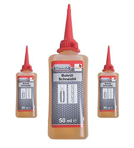 3 Flaschen Bohr und Schneid ÖL Bohröl Gewindeschneidöl V2A