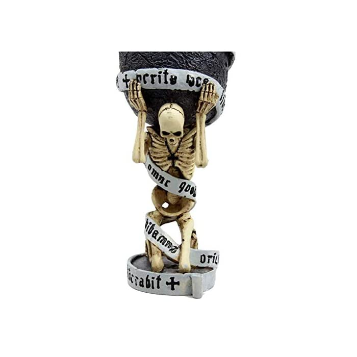 Tvoip Horrible Resin Stainless Steel Skull Goblet Retro Claw Wine Glass Gothic Cocktail Glasses Wolf Whiskey Cup Party Bar Drinkware Skull2