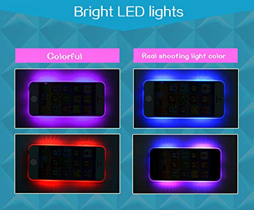YOYOSTORE Child's Interactive My First Own Cell Phone - Play to learn, touch screen with 8 functions and dazzling LED lights