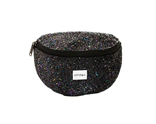 Spiral Midnight Stardust Bum Bag Gürteltasche, 24 cm, 3 liters, Schwarz (Black)