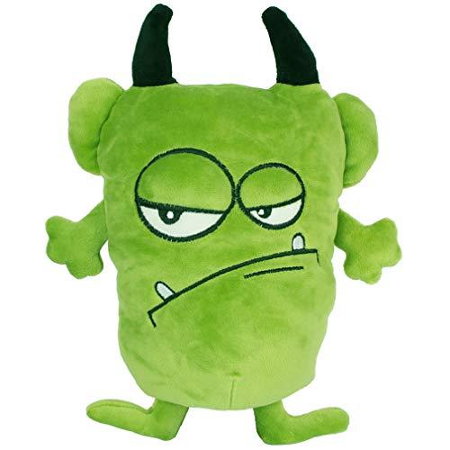 YXiang Muñeco de Peluche Monstruo Divertido Monstruo Feo Peluche Regalo de cumpleaños de Halloween Juguete para niños (20 cm) (Verde)