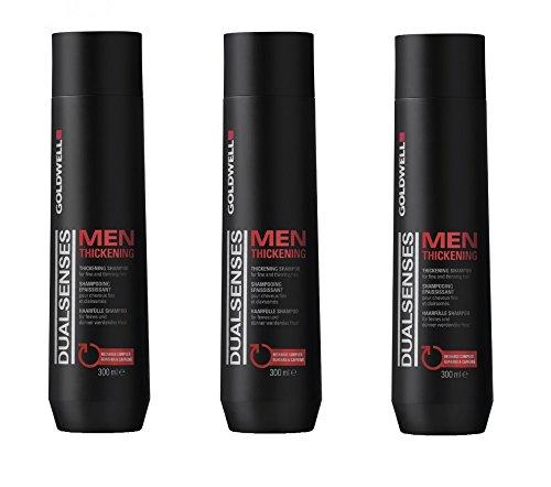 Goldwell Men Thickening Shampoo 3 x 300 ml Dualsenses GW