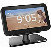 VMEI Echo Show 5 Metal Stand, Metal Holder for Echo Show 5 Can 360 Degree Rotatable,Tilt The Viewing Angle of Echo Show 5 Screen Up and Down.(Grey)