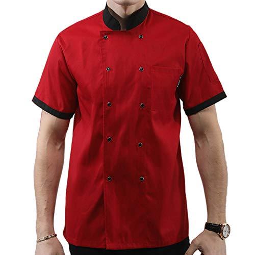 DNJKH Hotel Chef Casaca, Camisa Profesional Casaca, Elegante Cocina Uniforme