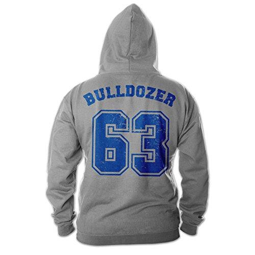 Bud Spencer Herren Bulldozer 63 Hoodie (grau) (3XL)