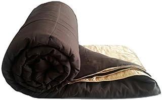 Bombay Dyeing Microfibre 150 TC Reversible Comforter (Single_Orange)