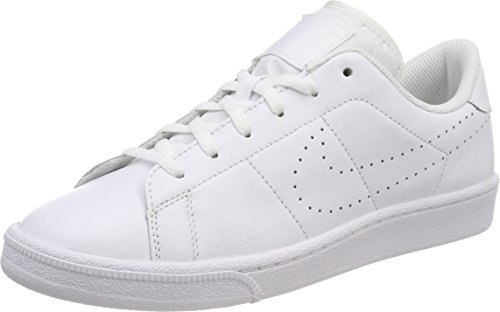 Nike Jungen Tennis Classic Premium (GS) Sneaker, Weiß (White/White), 39 EU