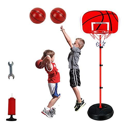 Manuel Tragbarer Basketballständer,Stabiler Und Höhenverstellbar Basketballkorb Fürs Zimmer Mini Basketball Kinder Basketballkorb Spielzeug Ständer Hoop Set Für Kinder
