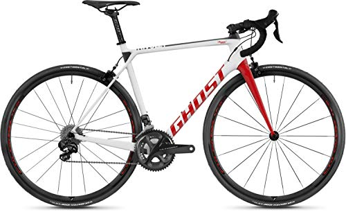 Ghost Nivolet 8.8 LC U Rennrad 2018 (L/56cm, Star White/Riot red)