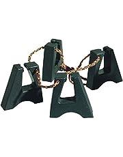 LP Latin Percussion LP637 - Patas de goma para conga, unidas por un cordón ajustable