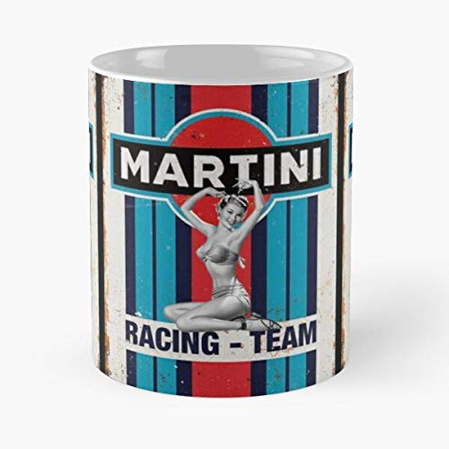 Martini Racing - Team Vintage Pinup T-shirt Classic Mug