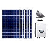 6 Celdas Fotovoltaicas Para Casa De 330 Watts 1980 Watts - Mayorista Solares