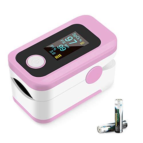 Oxímetro de pulso, oxímetro de dedo profesional con pantalla OLED, utilizado para...