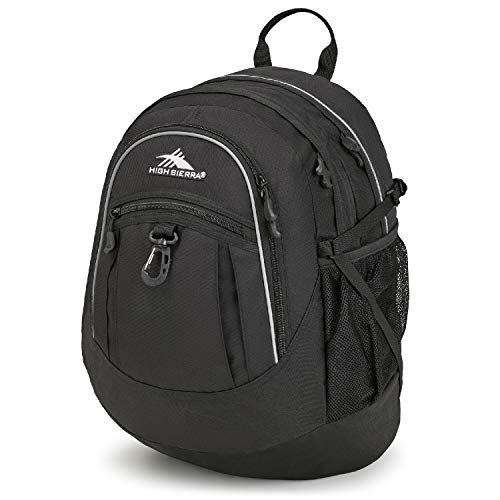 High Sierra Fatboy Backpack, Black