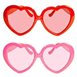 Folat 24761 Brille rosa Herzen, Pink