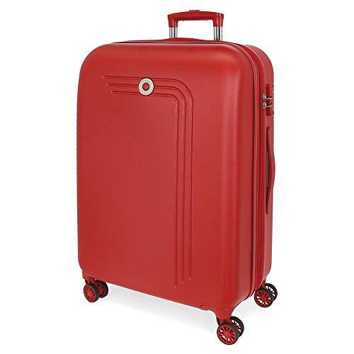 Movon koffer stijf 70 cm rood