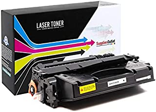 SuppliesOutlet Compatible Toner Cartridge Replacement for HP 80X (CF280X) (High Yield Black,1 Pack)