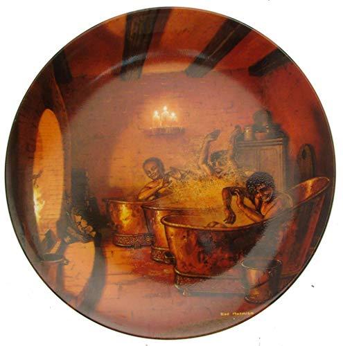 Wedgwood Seigneur des anneaux Plaque de seconde série de baignade à Crickhollow-CP1013
