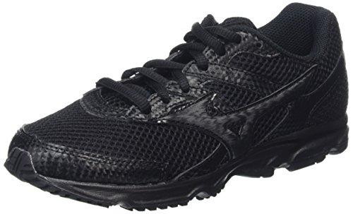 Mizuno Mizuno Spark Jr, Zapatillas de Running, Unisex Niños, Negro (Black), 38 EU