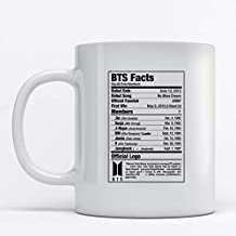 Mug 350ml Facts about BTS squad for Coffee and Tea