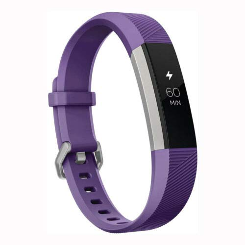 Aces Activity Tracker for Kids 8 Power Blue and Purple/Stainless Steel One Size (Plum)