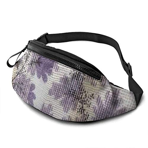 XCNGG Bolso de la Cintura del Ocio Bolso Que acampa Bolso del montañismo Orange Graffiti Fanny Packs for Women and Men Waist Bag Adjustable Belt for Outdoors Workout, Traveling,Casual Running,Hiking,