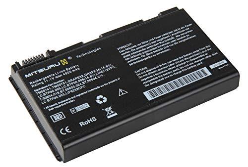 4400mAh Notebook Laptop Akku Batterie für Acer Travelmate 5310 5320 5520 5710 5720 5720G 5730 5530 5520G, ersetzt Acer TM00741 LIP6219VPC LC.BTP00.005 .006 GRAPE34 GRAPE32 CONIS71 CONIS72