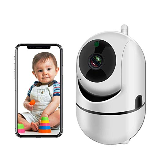 WiFi Security Camera 1080P HD Baby Monitor with Sound Motion Detection...