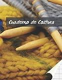 CUADERNO DE COSTURA: PAPEL PAUTADO PARA TEJER   PLANTILLAS PARA REGISTRAR TUS DISEÑOS O  PROYECTOS DE PUNTO, TRICOTAR, CROCHÉ...   CUADRÍCULA RECTANGULAR DE RATIO 4:5 ( 40 PUNTADAS = 50 COLUMNAS)