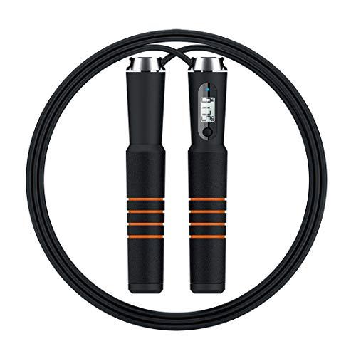 TOOGOO Smart Bluetooth Spring Seil Kreuz Fit Digital Kalorien Geschwindigkeit Zaehler Spring Seile Fuer Uebung Alarm Erinnerung Gewichtseinstellung # 294088