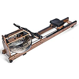 LINKLIFE Water Rowing Machine with LCD Monitor Adjustable Water Resistance Rower for Home Gym Training Equipment
