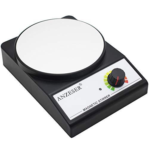 ANZESER Mixer magnetico agitatore magnetico 3000 RPM con agitatore Max capacità di agitazione 3000ml