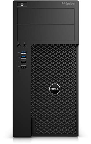 Dell Precision 3620 Tower Intel Xeon E3-1240 v5 3.5GHz 16 GB 512 GB SSD Quadro K1200 Windows 10 Pro