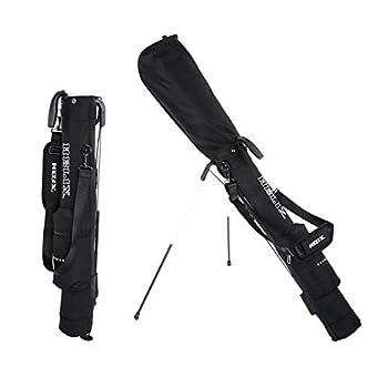 Helix Golf Stand Bag Lightweight Easy Carry Golf Sunday Travel Bag with Shoulder Practice Ranger Sunday Golf Bag for Women Men Black