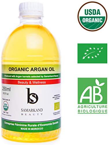 250 ml 100% Pure Organische Arganolie Koudgeperst voor Haar en Huid - Het Origineel uit Marokko