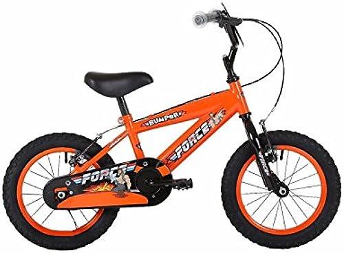 Bumper Force Jungen 45,7  Mountain Bike Orange Schwarz