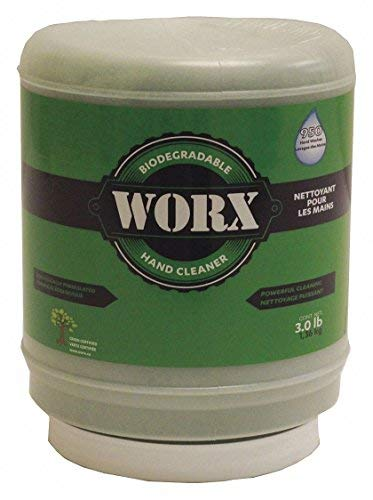 Worx All-Natural Hand Cleaner 11-1300 All Natural Powdered Hand Soap,...