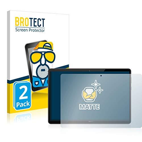 BROTECT 2X Entspiegelungs-Schutzfolie kompatibel mit Huawei MediaPad T5 10 Bildschirmschutz-Folie Matt, Anti-Reflex, Anti-Fingerprint